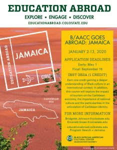 Education Abroad Flyer